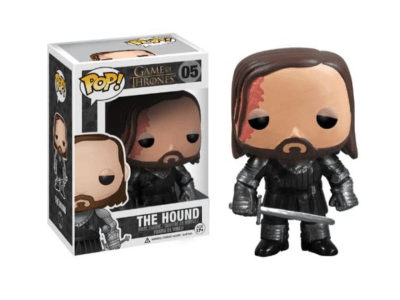 POP, Figura de Vinilo Coleccionable, Game of Thrones, The Hound, Nº05