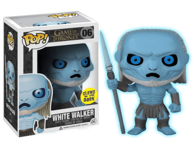 POP, Figura de Vinilo Coleccionable, Game of Thrones, White Walker, Nº06