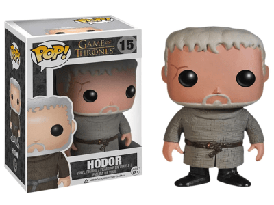 POP, Figura de Vinilo Coleccionable, Game of Thrones, Hodor, Nº15