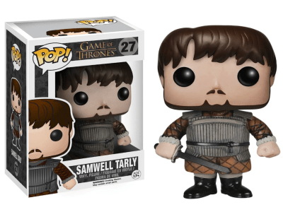 POP, Figura de Vinilo Coleccionable, Game of Thrones, Samwell Tarly, Nº27