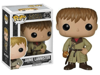 POP, Figura de Vinilo Coleccionable, Game of Thrones, Jaime Lannister, Nº35