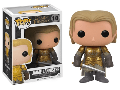 POP, Figura de Vinilo Coleccionable, Game of Thrones, Jaime Lannister, Nº10