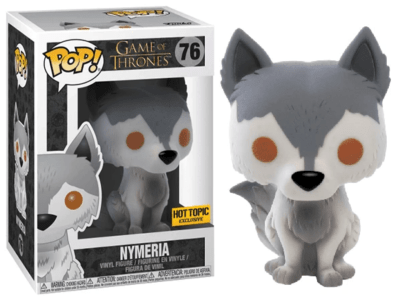 POP, Figura de Vinilo Coleccionable, Game of Thrones, Nymeria, Nº76