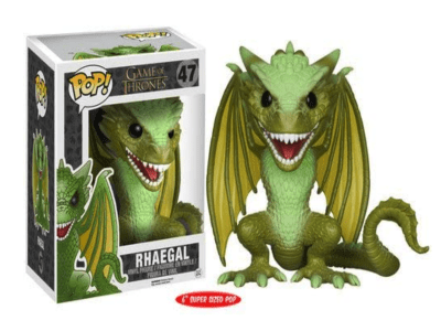 POP, Figura de Vinilo Coleccionable, Game of Thrones, Rhaegal (Big), Nº47