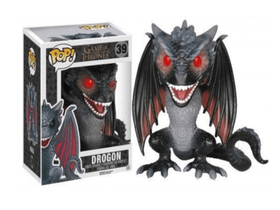 POP, Figura de Vinilo Coleccionable, Game of Thrones, Drogon (Big), Nº39