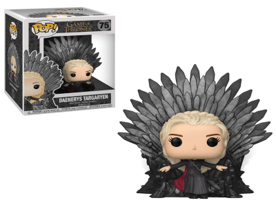 POP, Figura de Vinilo Coleccionable, Game of Thrones, Daenerys Targaryen (Big), Nº75
