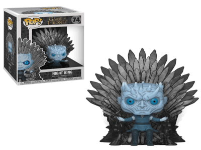 POP, Figura de Vinilo Coleccionable, Game of Thrones, Night King (Big), Nº74
