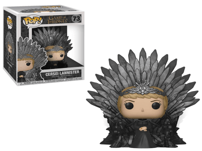 POP, Figura de Vinilo Coleccionable, Game of Thrones, Cersei Lannister (Big), Nº73