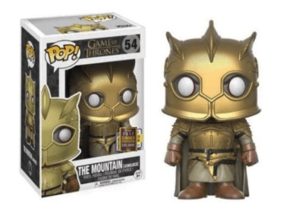 POP, Figura de Vinilo Coleccionable, Vinyl Figure Collectible, Game of Thrones, The Mountain, Nº54