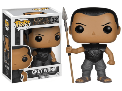 POP, Figura de Vinilo Coleccionable, Game of Thrones, Grey Worm, Nº32