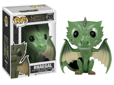 POP, Figura de Vinilo Coleccionable, Game of Thrones, Rhaegal, Nº20