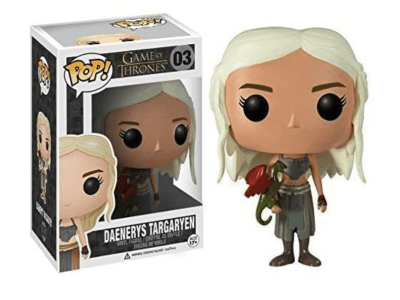 POP, Figura de Vinilo Coleccionable, Game of Thrones, Daenerys Targaryen, Nº03
