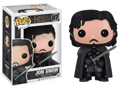 POP, Figura de Vinilo Coleccionable, Game of Thrones, Jon Snow, Nº07