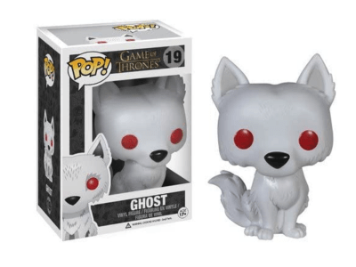 POP, Figura de Vinilo Coleccionable, Game of Thrones, Ghost, Nº19