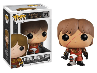 POP, Figura de Vinilo Coleccionable, Game of Thrones, Tyrion Lannister, Nº21