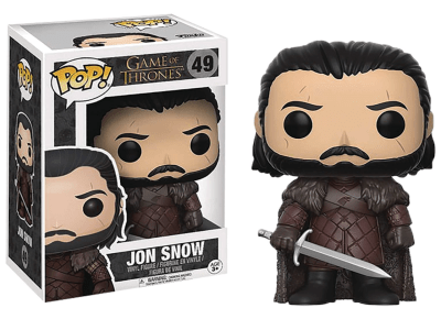 POP, Figura de Vinilo Coleccionable, Game of Thrones, Jon Snow, Nº49
