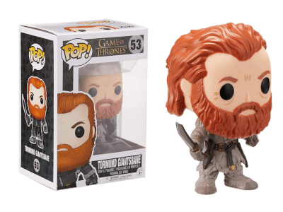 POP, Figura de Vinilo Coleccionable, Game of Thrones, Tormund Giantsbane, Nº53
