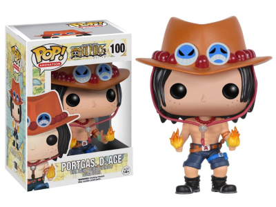 POP, Figura de Vinilo Coleccionable, One Piece, Portgas. D. Ace, Nº100