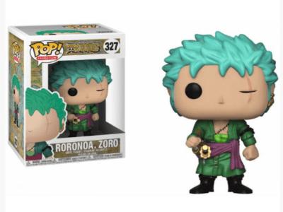 POP, Figura de Vinilo Coleccionable, One Piece, Roronoa. Zoro, Nº327