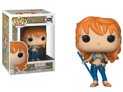 POP, Figura de Vinilo Coleccionable, One Piece, Nami, Nº328