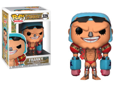 POP, Figura de Vinilo Coleccionable, One Piece, Franky, Nº329