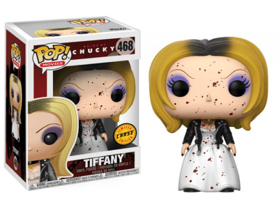 POP, Figura de Vinilo Coleccionable, Chucky, Tiffany (Blood), Nº468