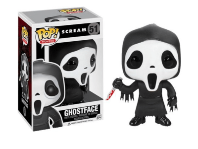 POP,Figura de Vinilo Coleccionable, Scream, Ghostface, Nº51
