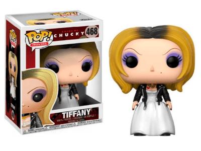 POP, Figura de Vinilo Coleccionable, Chucky, Tiffany, Nº468