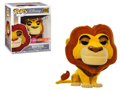 POP, Figura de Vinilo Coleccionable, Disney, Mufasa, Nº495