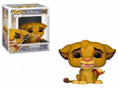 POP, Figura de Vinilo Coleccionable, Disney, Simba, Nº496