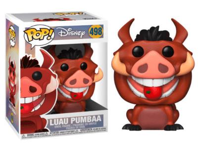 POP, Figura de Vinilo Coleccionable, Disney, Luau Pumbaa, Nº498
