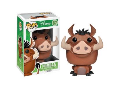 POP, Figura de Vinilo Coleccionable, Disney, Pumbaa, Nº87