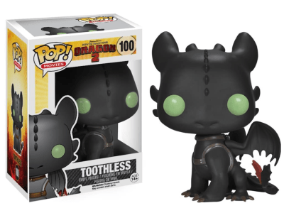 POP, Figura de Vinilo Coleccionable, How to Train your Dragon, Toothless, Nº100
