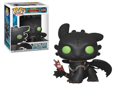 POP, Figura de Vinilo Coleccionable, How to Train your Dragon, Toothless, N686