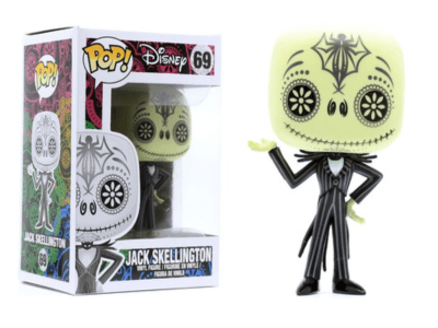 POP, Figura de Vinilo Coleccionable, Disney, Jack Skellington, Nº69