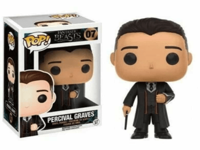 POP, Figura de Vinilo Coleccionable, Fantasic Beasts, Percival Graves, Nº07