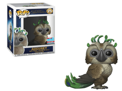 POP, Figura de Vinilo Coleccionable, Fantasic Beasts, Augurey, Nº25