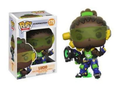 POP, Figura de Vinilo Coleccionable, Overwatch, Lucio, Nº179
