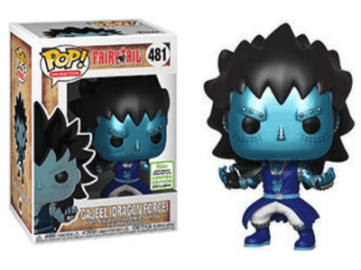 POP, Figura de Vinilo Coleccionable, Fairy Tail, Gajeel (Dragon Force), Nº481