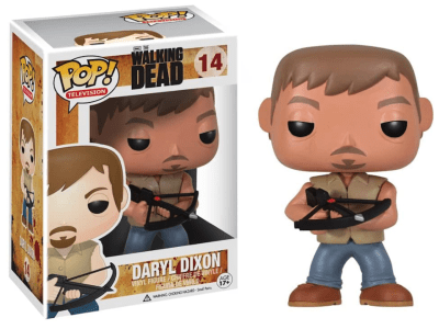 POP, Figura de Vinilo Coleccionable, Walking Dead, Daryl Dixon, Nº14