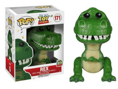 POP, Figura de Vinilo Coleccionable, Toy Story, Rex, Nº171