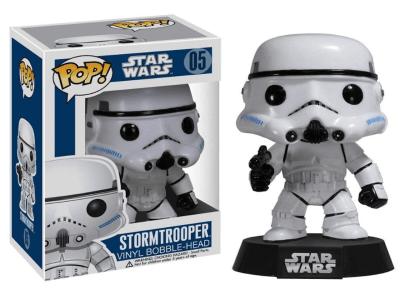 POP, Figura de Vinilo Coleccionable, Star Wars, Stormtropper, Nº05