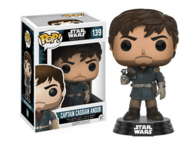 POP, Figura de Vinilo Coleccionable, Star Wars, Captain Cassian Andor, Nº139