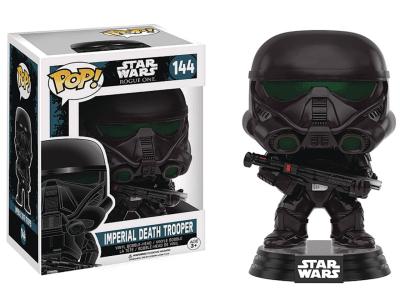 POP, Figura de Vinilo Coleccionable, Star Wars, Imperial Death Trooper, Nº144