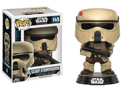 POP, Figura de Vinilo Coleccionable, Star Wars, Scarif Stormtrooper, Nº145