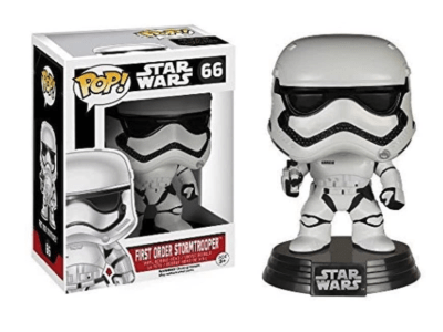 POP, Figura de Vinilo Coleccionable, Star Wars, First Order Stormtrooper, Nº66