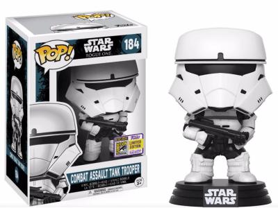 POP, Figura de Vinilo Coleccionable, Star Wars, Combat Assault Tank Trooper, Nº184