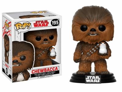 POP, Figura de Vinilo Coleccionable, Star Wars, Chewbacca, Nº195