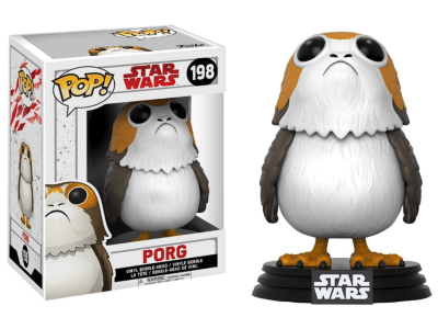 POP, Figura de Vinilo Coleccionable, Star Wars, Porg, Nº198