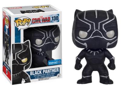 POP, Figura de Vinilo Coleccionable, Marvel, Black Panther, Nº130